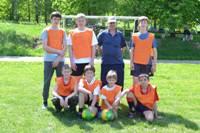 Футбольный турнир воскресных школ Пушкинского района