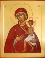 """Приход приобрел икону Божией Матери """"Воспитание"""""""