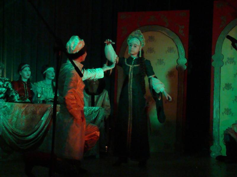 Спектакль Царевна-лягушка