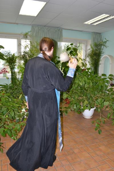 Молебен в школе 2011
