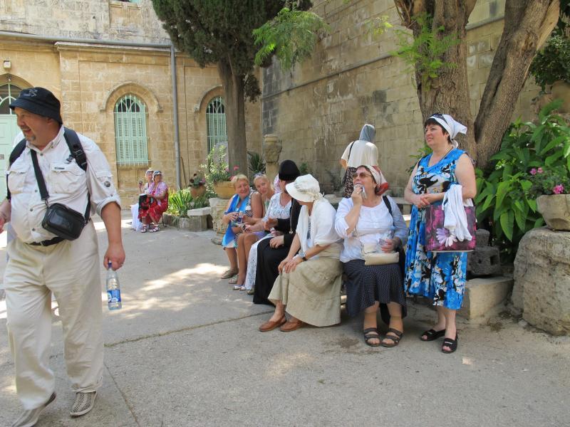 Паломничество по Святой Земле