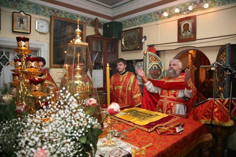Престольный праздник в храме 2011