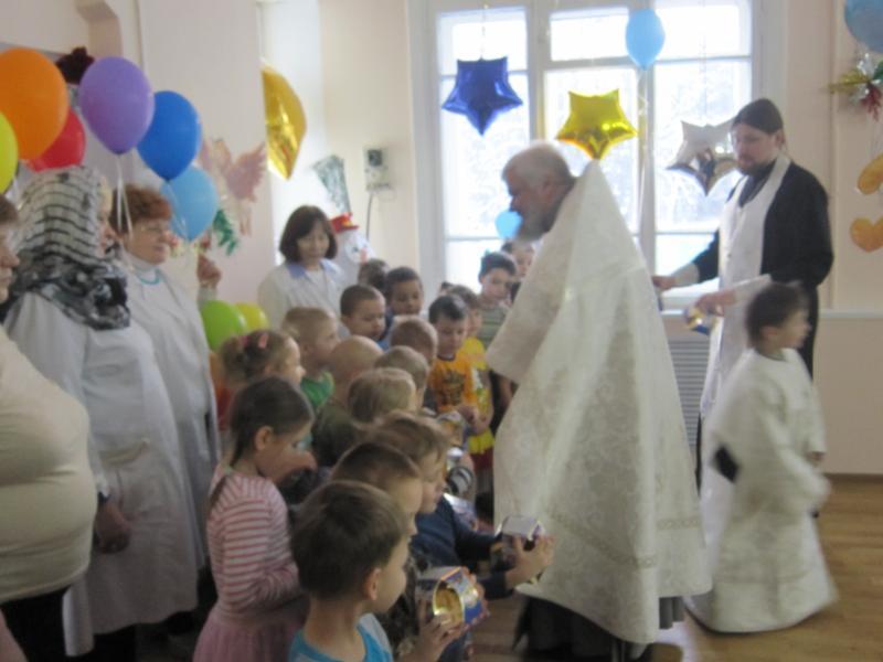 В детском санатории