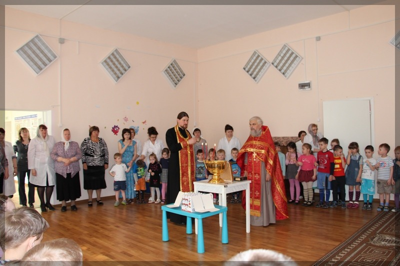 пасхальный праздник в детском санатории