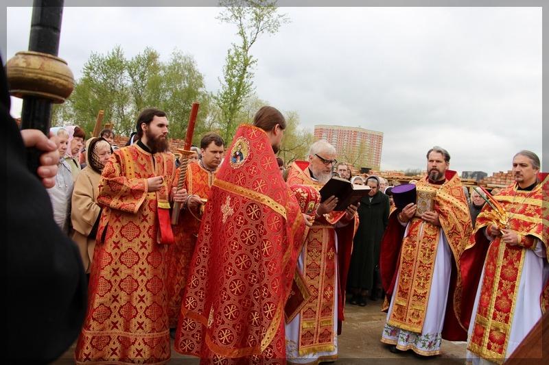 престольный праздник в храме Ивантеевки