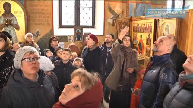 Воспитанники Георгиевского храма на экскурсии в Свято-Алексиевской пустыни