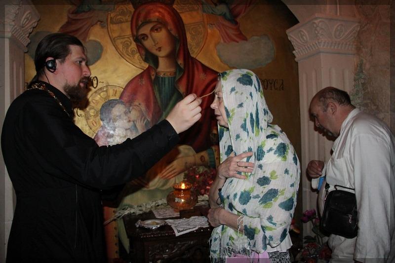 Масленица в Георгиевском храме Ивантеевки