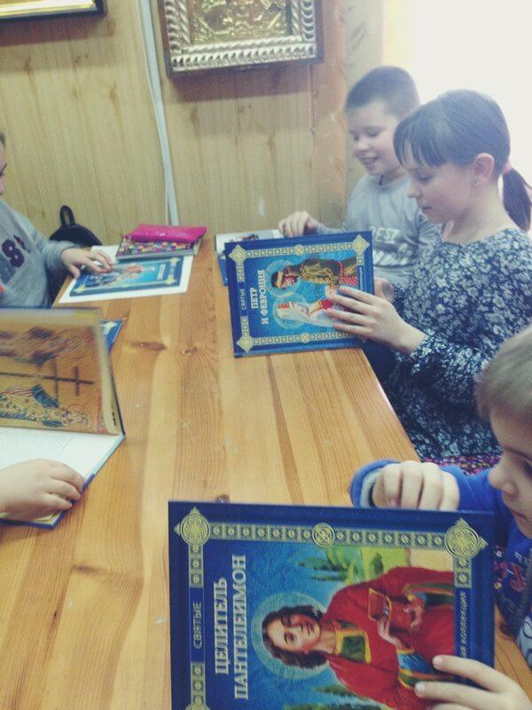 Воскресная школа храма Ивантеевки