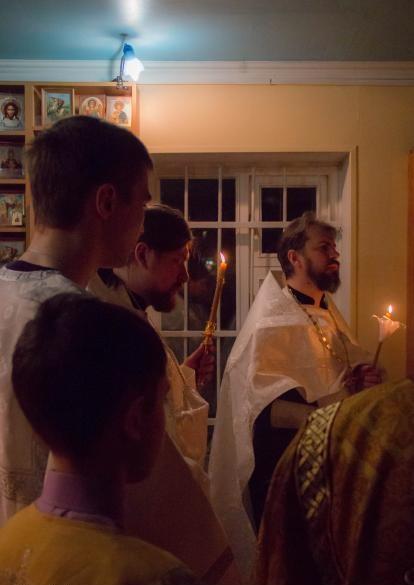 Торжественные крещенские богослужения