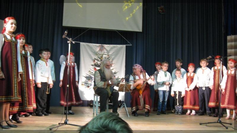 Рождественская ёлка в школе №2