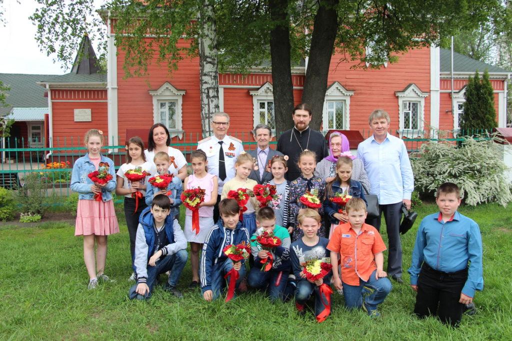 Встреча  детей воскресной школы с ветеранами