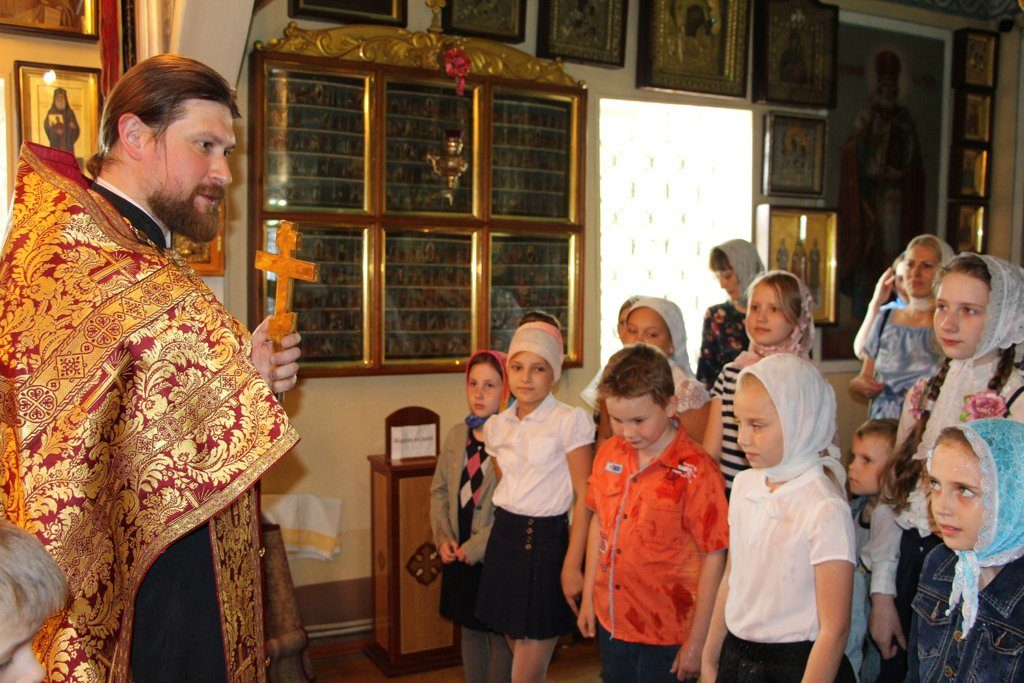 Молебен об окончании учебного года в Воскресной школе