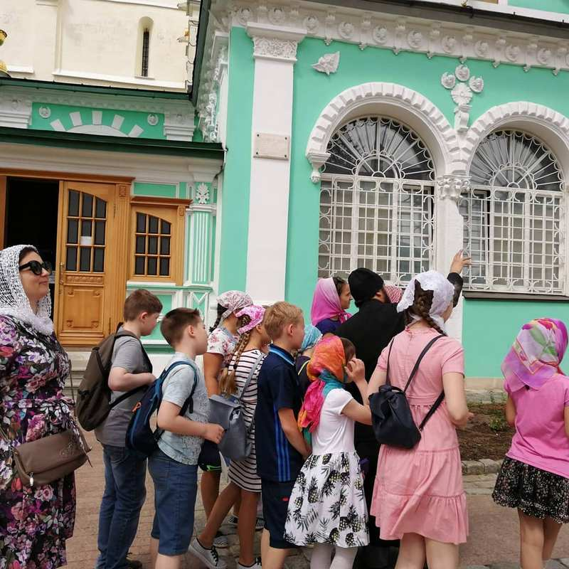 Поездка в Свято-Троицкую Сергиеву лавру