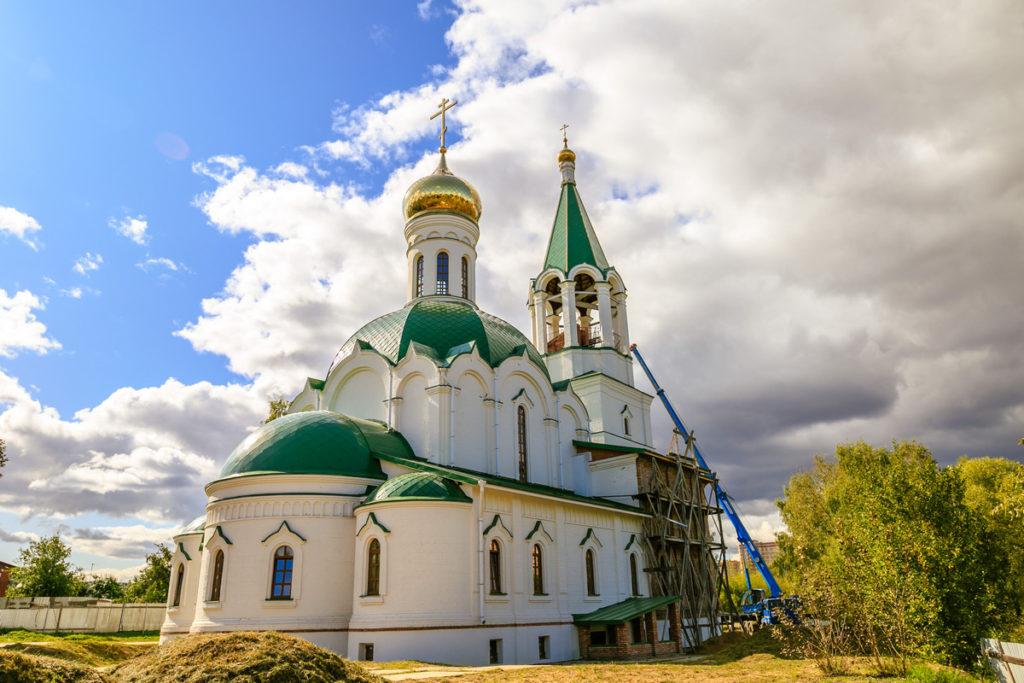 Освящение колоколов для нового храма