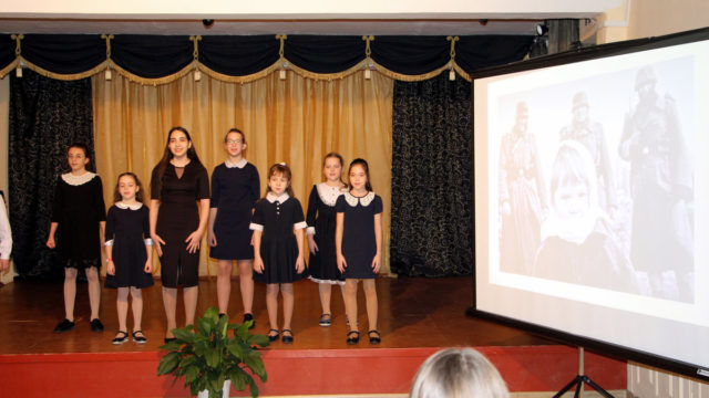 Рождественские чтения в школе Ивантеевка