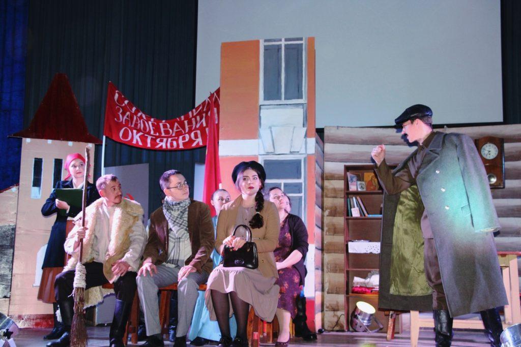 Театр Георгиевского храма представил спектакль «Дальше-тишина»