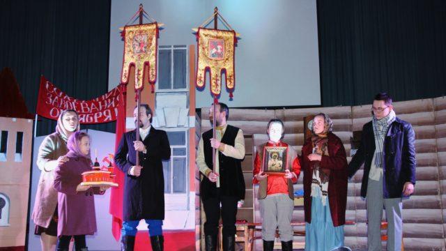 Спектакль Георгиевского храма Дальше-тишина