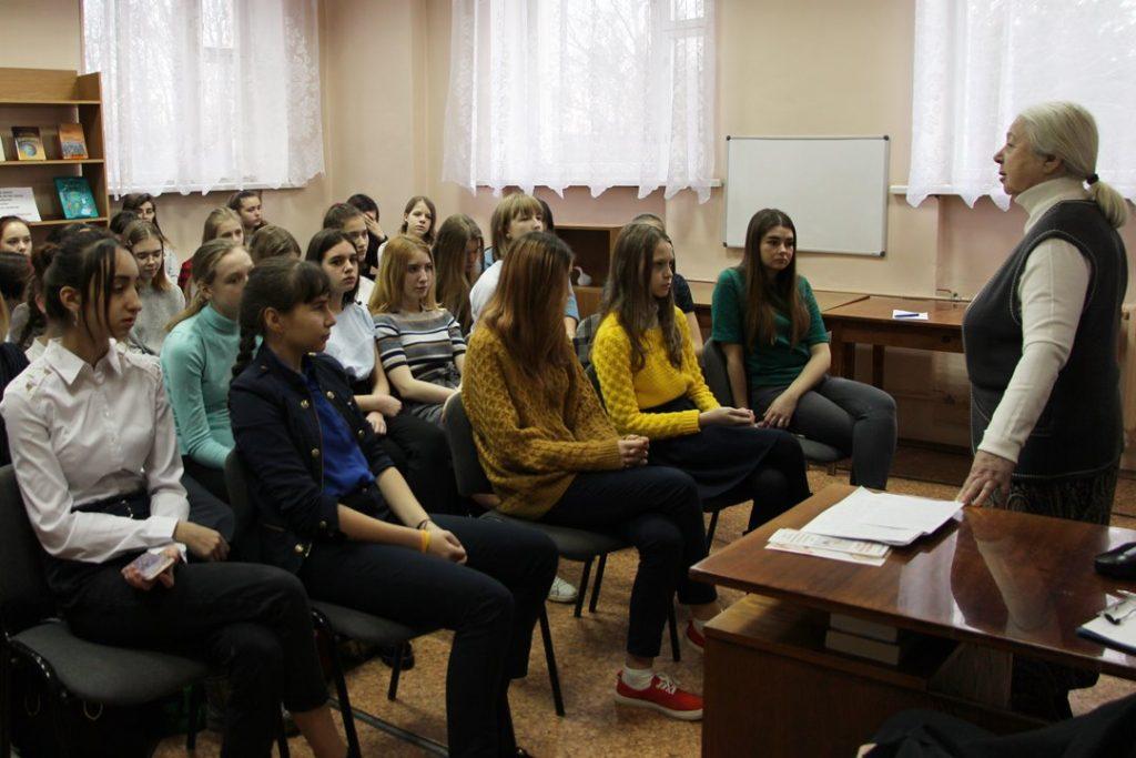 Ученикам школы № 2 о семье, целомудрии и грехе аборта