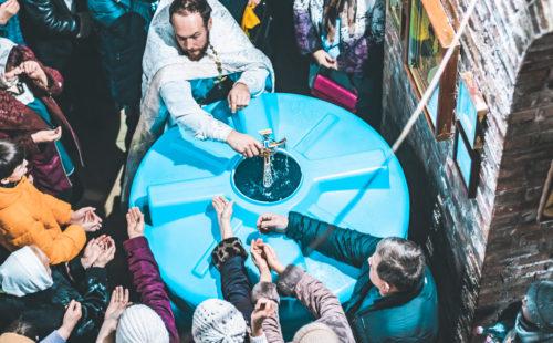 крещение храм Ивантеевка 2020