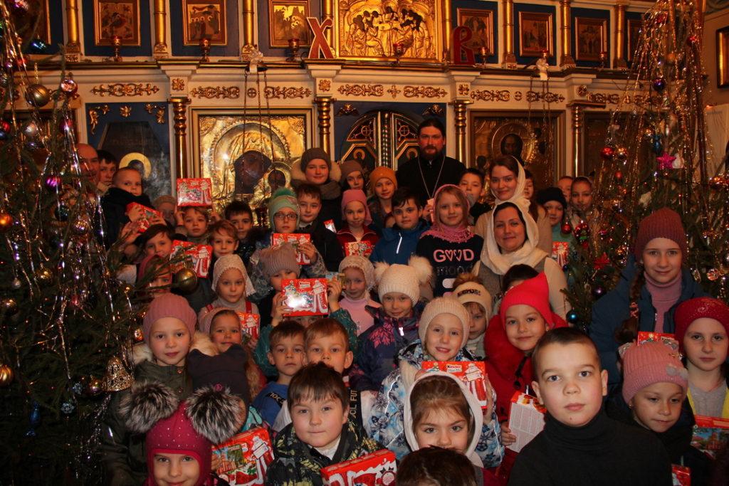 Рождественская елка для детей и концерт