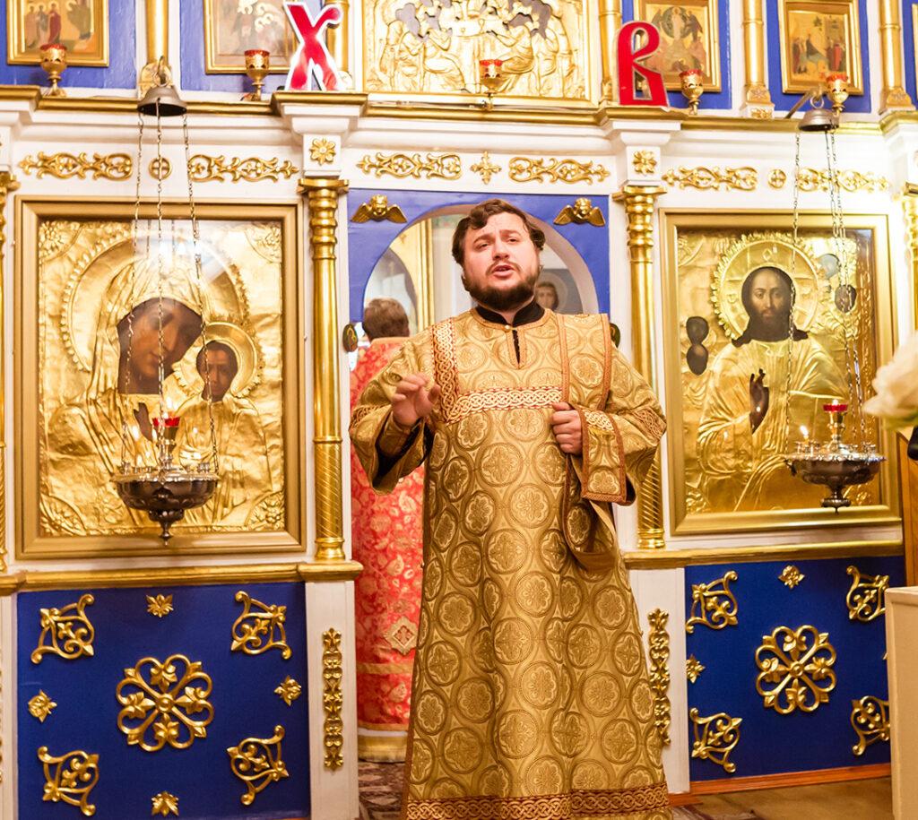 Престольный праздник в Георгиевском храме г. Ивантеевки
