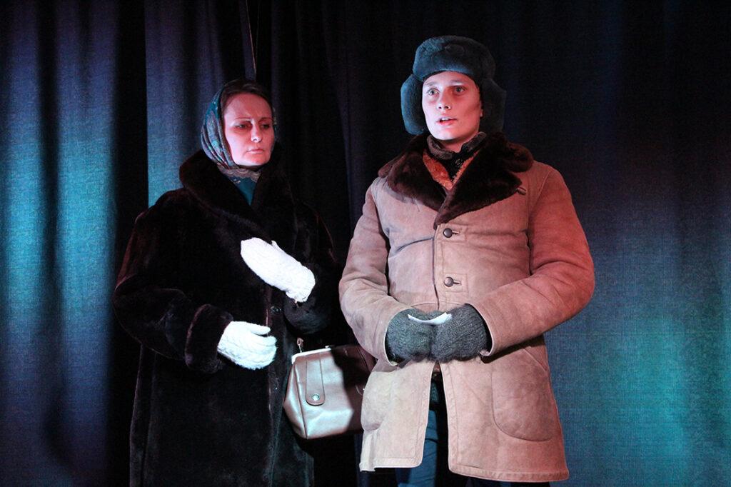 Спектакль о блокадном Ленинграде.