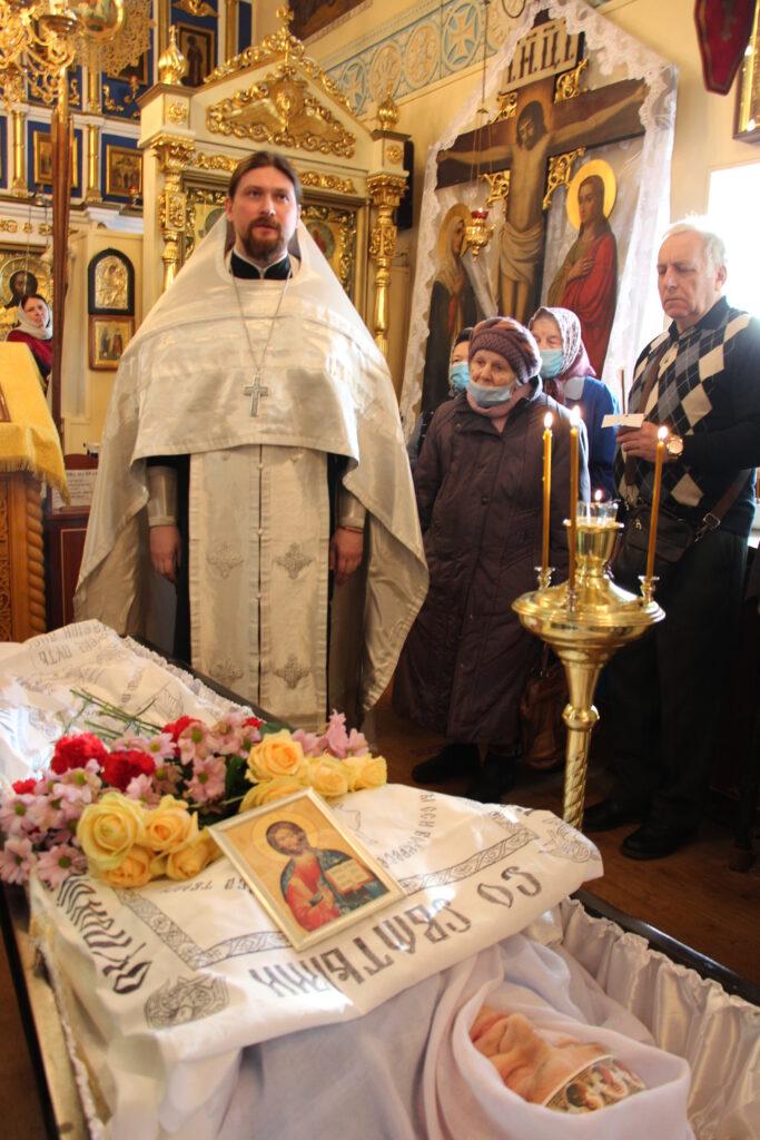 10 февраля, состоялось отпевание Степановой Раисы Андреевны