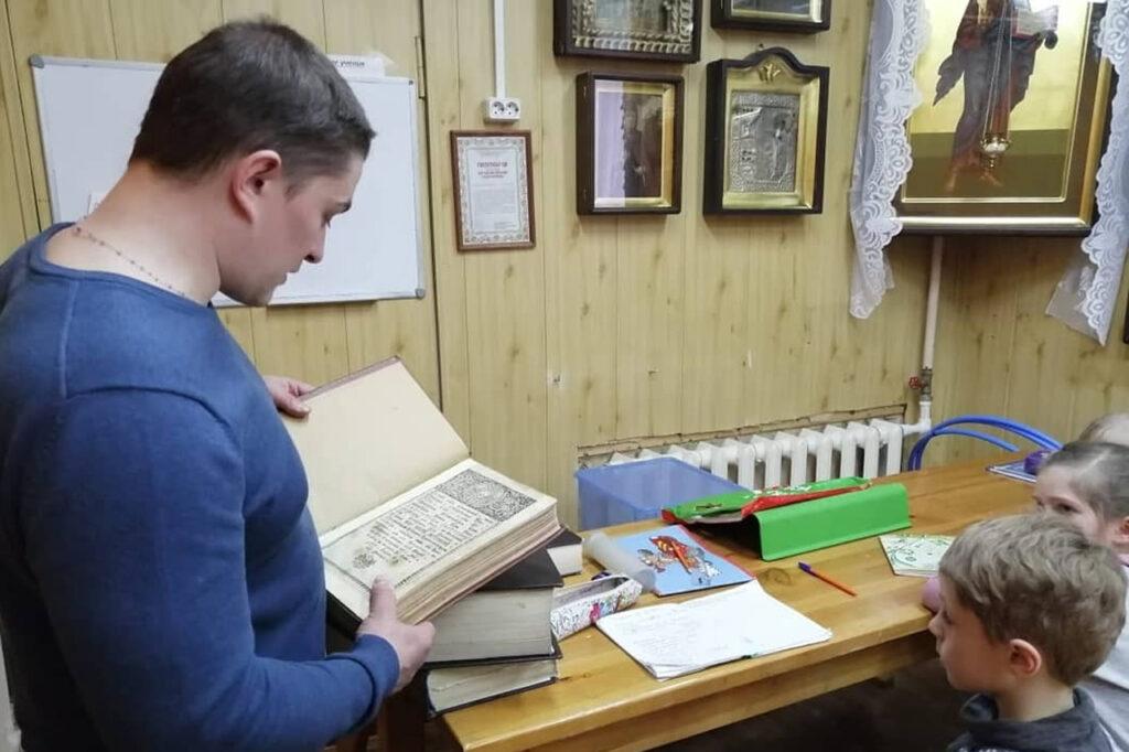 День православной книги в нашем храме.