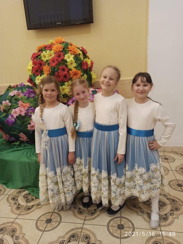"""Сегодня детский хор  нашего храма  """"Наследие"""" приняли участие в пасхальном фестивале """"Подснежник"""""""