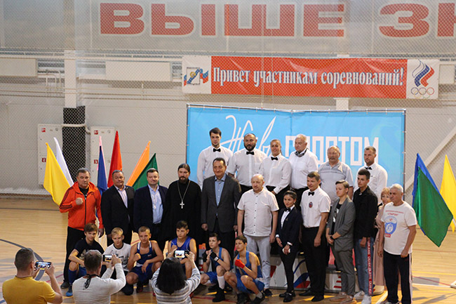 В Ивантеевке, прошёл первый турнир по боксу среди юношей