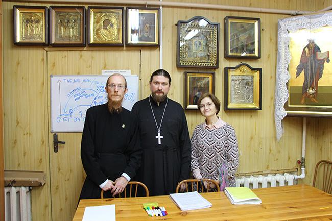 11 октября в нашем храме начала работу Школа Трезвости.