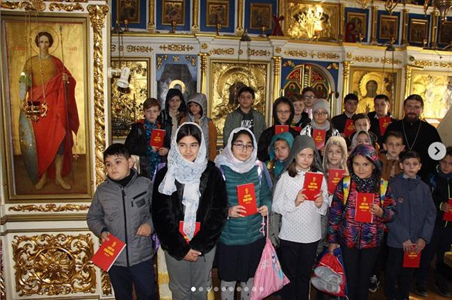 28 и 29 сентября в нашем храме прошли экскурсии с учащимися второй школы.