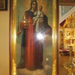 "Частица Гроба Божией Матери (икона Божией Матери ""Благодатное Небо"")"