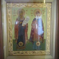 Частицы мощей блгвв. кнн. Петра и Февронии