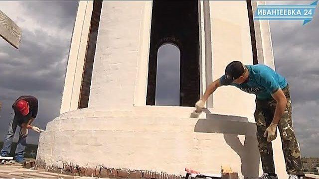 Покраска храма