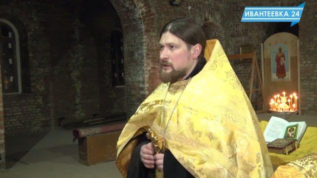 Проповедь Алексия Барашкова в строящемся храме