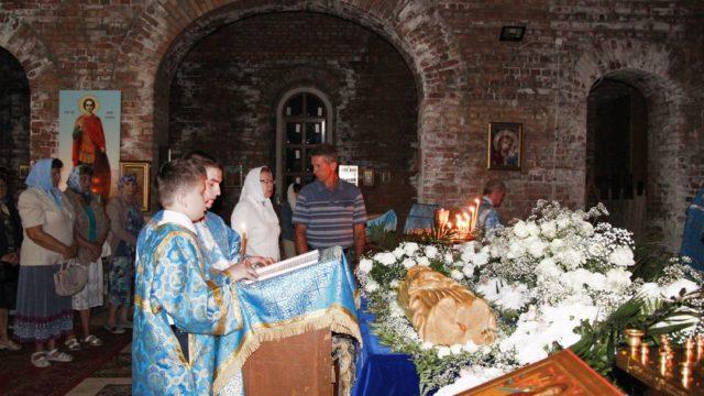 Праздник Успения Пресвятой Богородицы в храме Новомучеников Ивантеевских