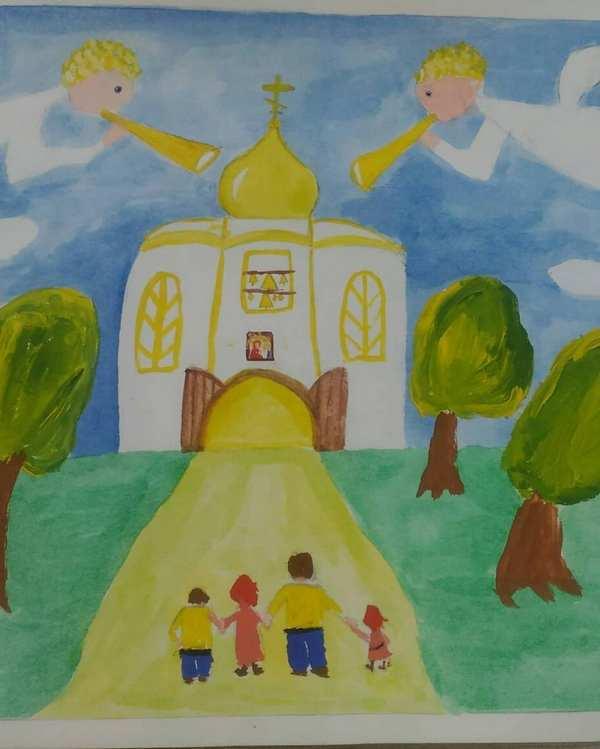 Итоги городского этапа конкурса детского творчества «Красота Божьего мира»