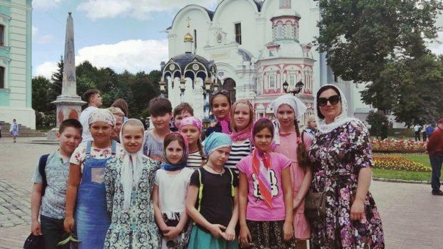 Свято-Троицкая Сергиева лавра Поездка 2019