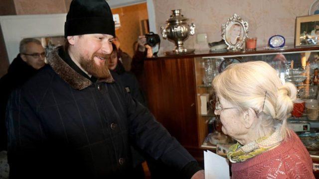 Алексий Барашков навестил жителей бывшего блокадного Ленинграда