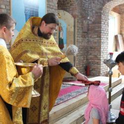 6 сентября в нашем храме был отслужен молебен на начало учебного года в детской Воскресной школе.
