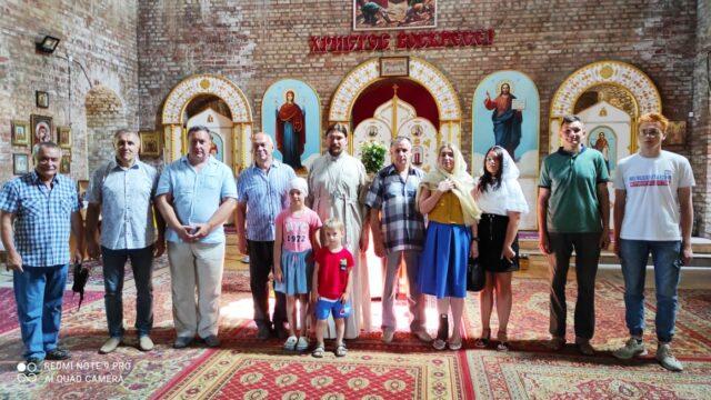 Экскурсия в Геориевском храме для депутатов Совета депутатов, членов Общественной палаты, РСВА и организации Молодая Гвардия.